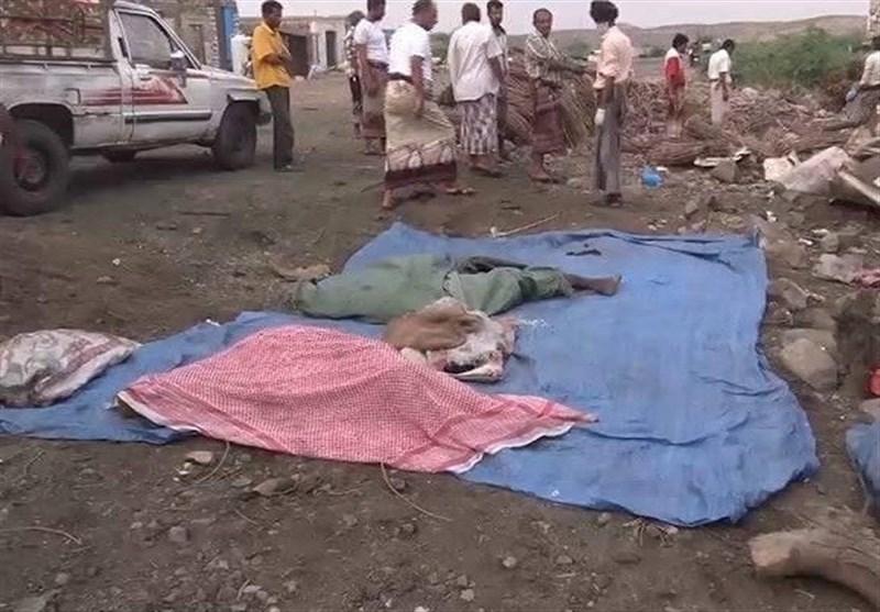 ارتفاع ضحایا غارات العدوان السعودی على سوقین فی صعدة وتعز الى 50 شهیدا وجریحا