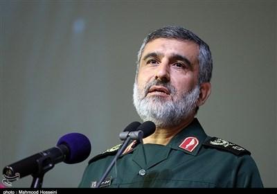 سردار حاجیزاده: سپاه در سرنگونی پهپاد جاسوسی به وظیفهاش عمل کرد / آمریکاییها اقدام مقابله به مثل نمیکنند