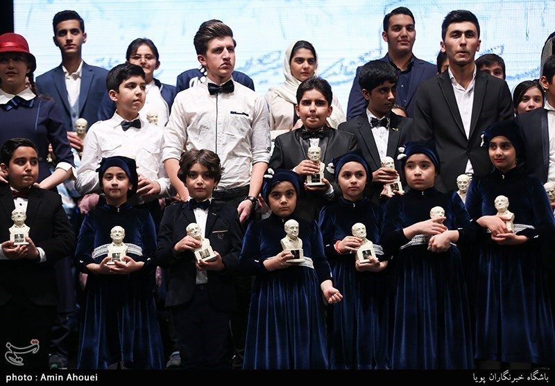 اختتامیه چهارمین جشنواره موسیقی همایون خرم