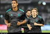 تمرین تیم رئال مادرید