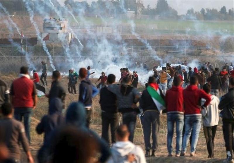 مواجهات بین شبان فلسطینیین وقوات الاحتلال فی الضفة