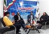 بازدید معاون اجرایی سپاه استان زنجان و رئیس بسیج رسانه و