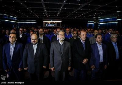 مراسم آغاز تولید دنا پلاس توربو و پژو 207 i صندوقدار اتوماتیک محصولات جدید شرکت ایران خودرو