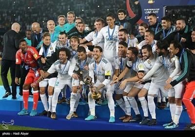 ابوظہبی؛ فیفا کلب ورلڈ کپ میں فتح پر ریئل میڈرڈ کا جشن