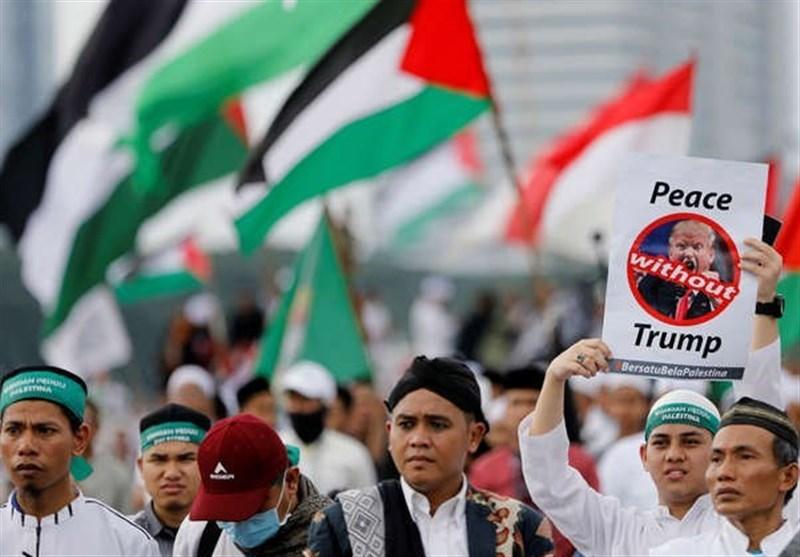 تظاهرات وسط جاکرتا على قرار ترامب بشأن القدس