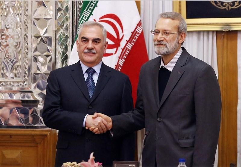 لاریجانی: انعدام الامن فی المنطقة ادى الى ان نقوم بتعزیز علاقاتنا السیاسیة والامنیة