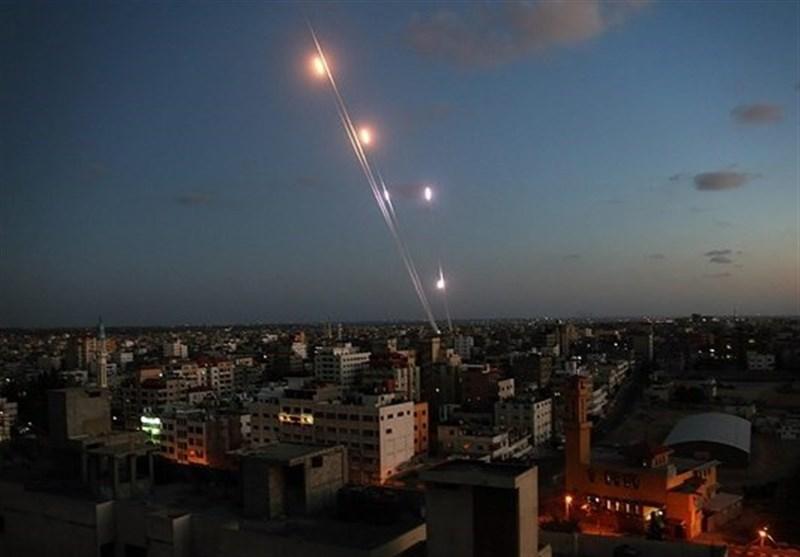 غزہ کی پٹی سے صیہونی نشین علاقوں پر میزائل حملے کا دعوی