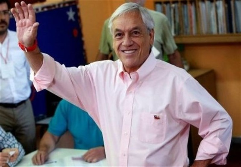 Former Chilean President Sebastian Pinera Wins Run Off Vote