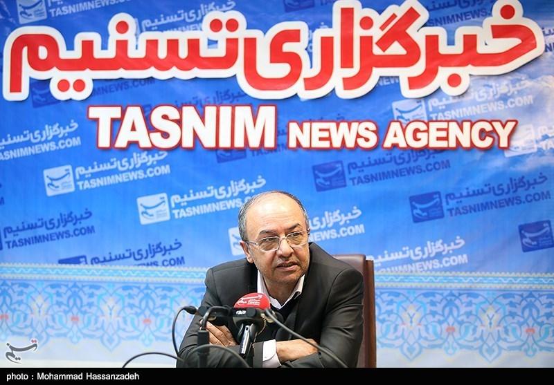علی فاضلی رئیس اتاق اصناف ایران در خبرگزاری تسنیم