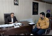مصاحبه فرید حائری با مدیرکل بهزیستی استان زنجان