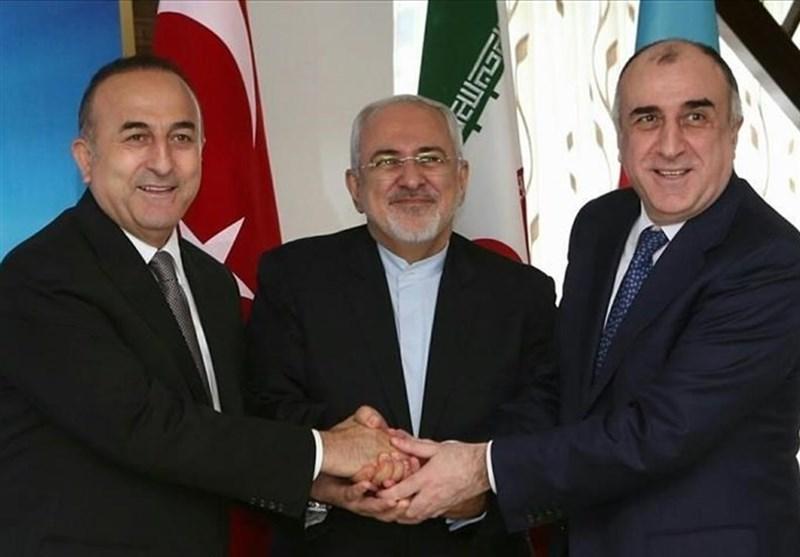 الخارجیة الترکیة : لقاء یجمع وزراء خارجیة ایران وترکیا واذربیجان فی باکو