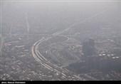 """کیفیت هوای تهران دوباره """"ناسالم"""" شد"""