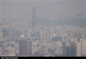 شاخص آلودگی هوای تهران به عدد 200 نزدیک شد