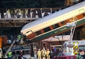 افزایش شمار کشتهشدگان حادثه خروج قطار از ریل در آمریکا +تصاویر