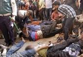 توزیع غذای رایگان در بنگلادش 10 کشته برجا گذاشت+تصاویر