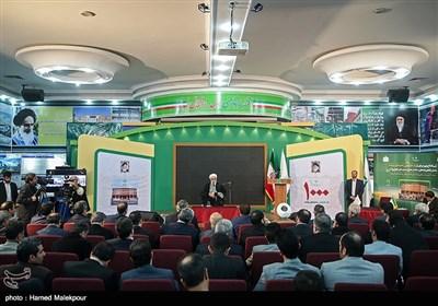 سخنرانی حجتالاسلام محمدی گلپایگانی رئیس دفتر مقام معظم رهبری در مراسم افتتاح هزارمین مدرسه برکت