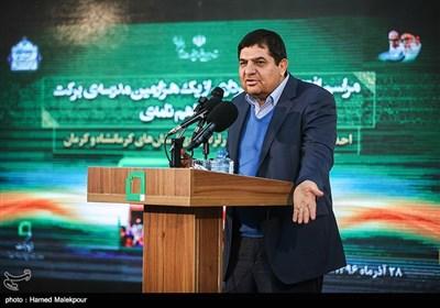 سخنرانی محمد مخبر رئیس ستاد اجرایی فرمان امام خمینی(ره) در مراسم افتتاح هزارمین مدرسه برکت