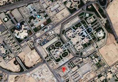 مشاهد لحظة إطلاق صاروخ برکان 2 أتش البالیستی على قصر الیمامة فی الریاض