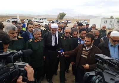 سردار جعفری: سپاه تهران نشان داد که میشود ظرف یک ماه منزل مسکونی برای زلزلهزدگان ساخت
