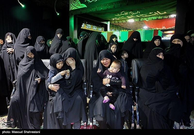مراسم وداع با پیکر شهید مدافع حرم محمداکرم ابراهیمی