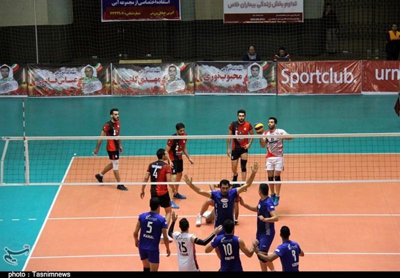 لیگ برتر والیبال؛ سایپا تهران در دیداری نزدیک هاوش گنبد را مغلوب کرد