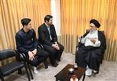 قدردانی سردار آزمون از آیتالله نورمفیدی برای حمایت از ورزش اسبدوانی