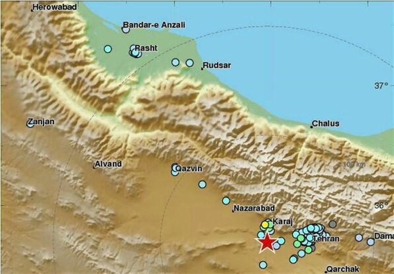 زلزله مردم تهران را به خیابانها کشاند
