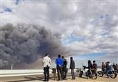 50 هکتار از اراضی میقان اراک در آتش سوخت