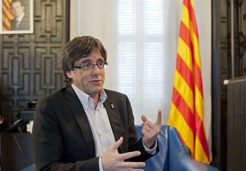 Sacked Catalan Leader Holds Brussels Meeting despite Madrid Opposition