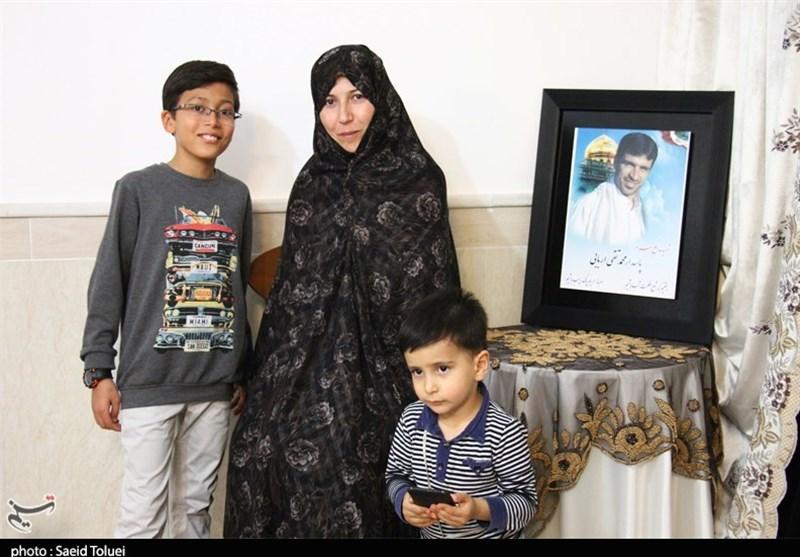 روایتی از مدافع حرم که با دعای همسرش شهید شد
