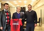 قرارداد داوود مهابادی با نساجی مازندران امضا شد