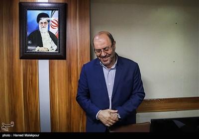 بازدید سردار حسین دهقان از تحریریه خبرگزاری تسنیم