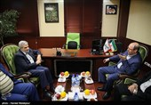 حضور سردار حسین دهقان در خبرگزاری تسنیم