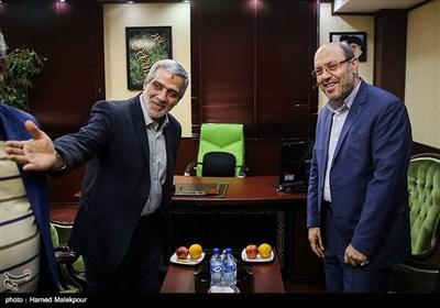 معرفی مدیران خبرگزاری به سردار حسین دهقان توسط مجید قلیزاده مدیرعامل خبرگزاری تسنیم