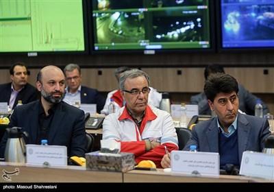 جلسه اضطراری ستاد مدیریت بحران شهر تهران