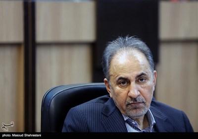 محمدعلی نجفی شهردار تهران در جلسه اضطراری ستاد مدیریت بحران شهر تهران