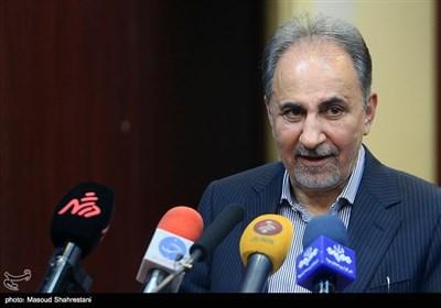 کنفرانس خبری محمدعلی نجفی شهردار تهران پس از جلسه اضطراری ستاد مدیریت بحران شهر تهران