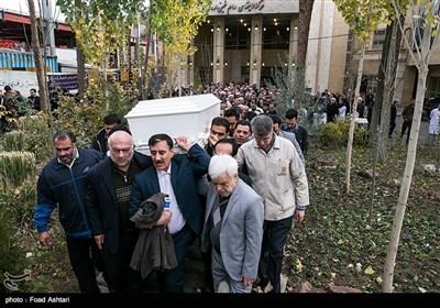 مراسم تشییع پیکر پروفسور علیرضا یلدا