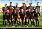 دیدار مشکیپوشان - ملوان با وجود حضور بازیکنان در زمین لغو شد + تصاویر