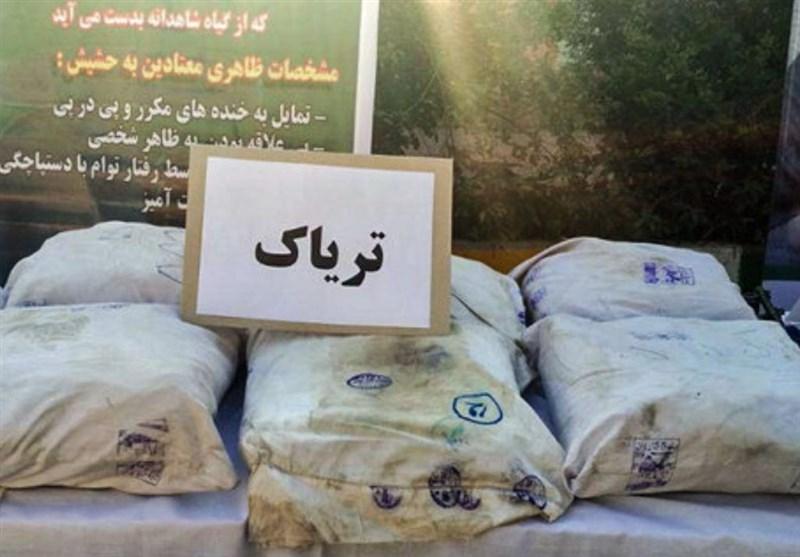 221 کیلوگرم مواد مخدر در یزد کشف شد