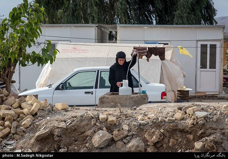 2 ماه پس از زلزله| مناطق زلزلهزده استان کرمانشاه نیاز شدید به آب شرب دارند