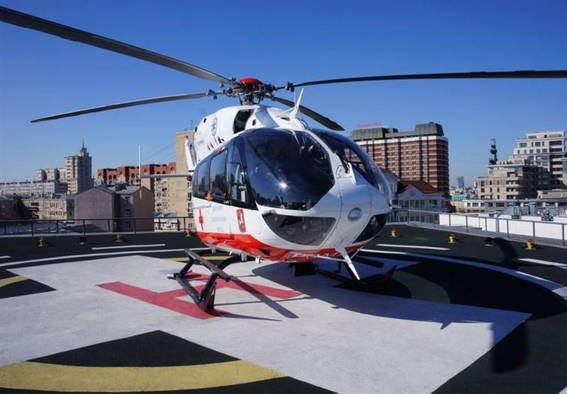اعزام آمبولانس هوایی به شهرستان بستک