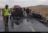 تصادف شدید در محور اهر تبریز