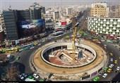 جدیدترین دیوارنگاره میدان ولیعصر(عج) با طرحی از حسن روحالامین +عکس
