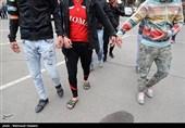 بازداشت عوامل تخریب شیشههای 9 واحد صنفی و خودرو در خزانه