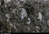نشانههایی از آغاز کار سفالگری در تپه عمادالدین شاهرود کشف شد