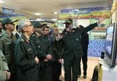 بازدید سردار باقری از نمایشگاه عملکرد بسیج + عکس