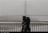 """کیفیت هوای 2 مرکز استان کشور """"خطرناک"""" شد"""