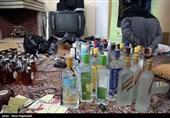 بازداشت 61 عامل تهیه و توزیع مشروبات الکلی دستساز و تقلبی
