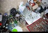 3 هزار لیتر مشروبات الکلی در ساوجبلاغ کشف شد
